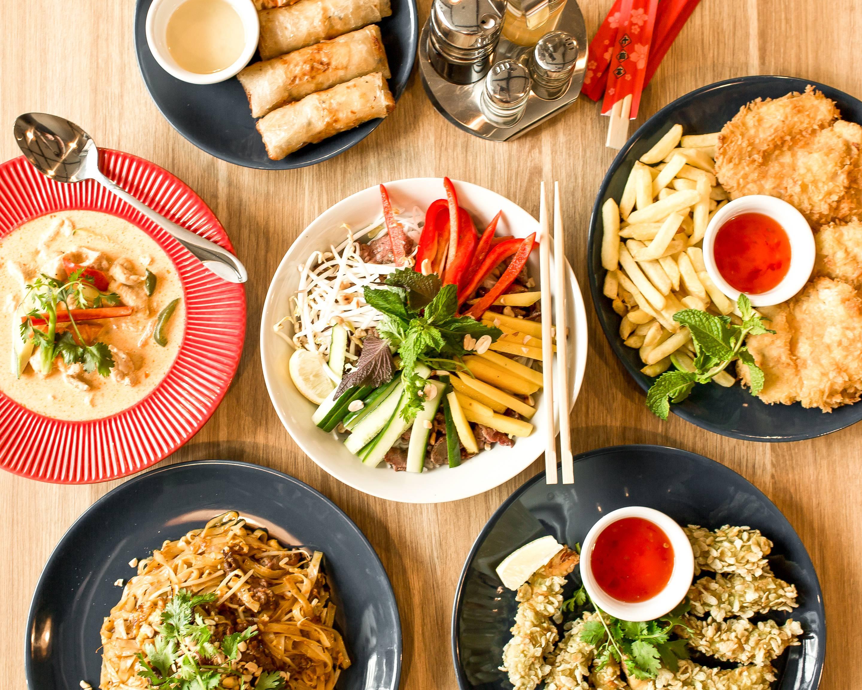Orientalna Kuchnia Azjatycka Fusion Qb żelazna Delivery
