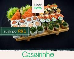 Caseirinho Japonês | Sushi R$1,00