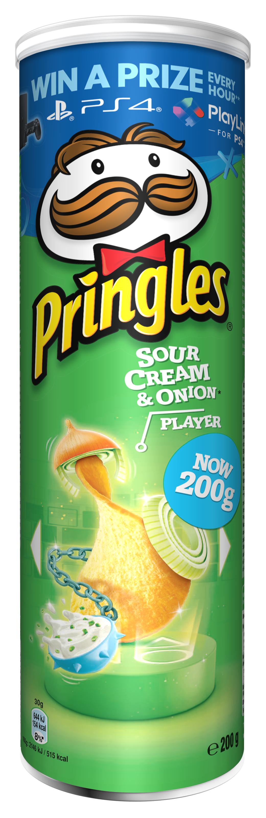 Pringles Natas e Cebola 200g