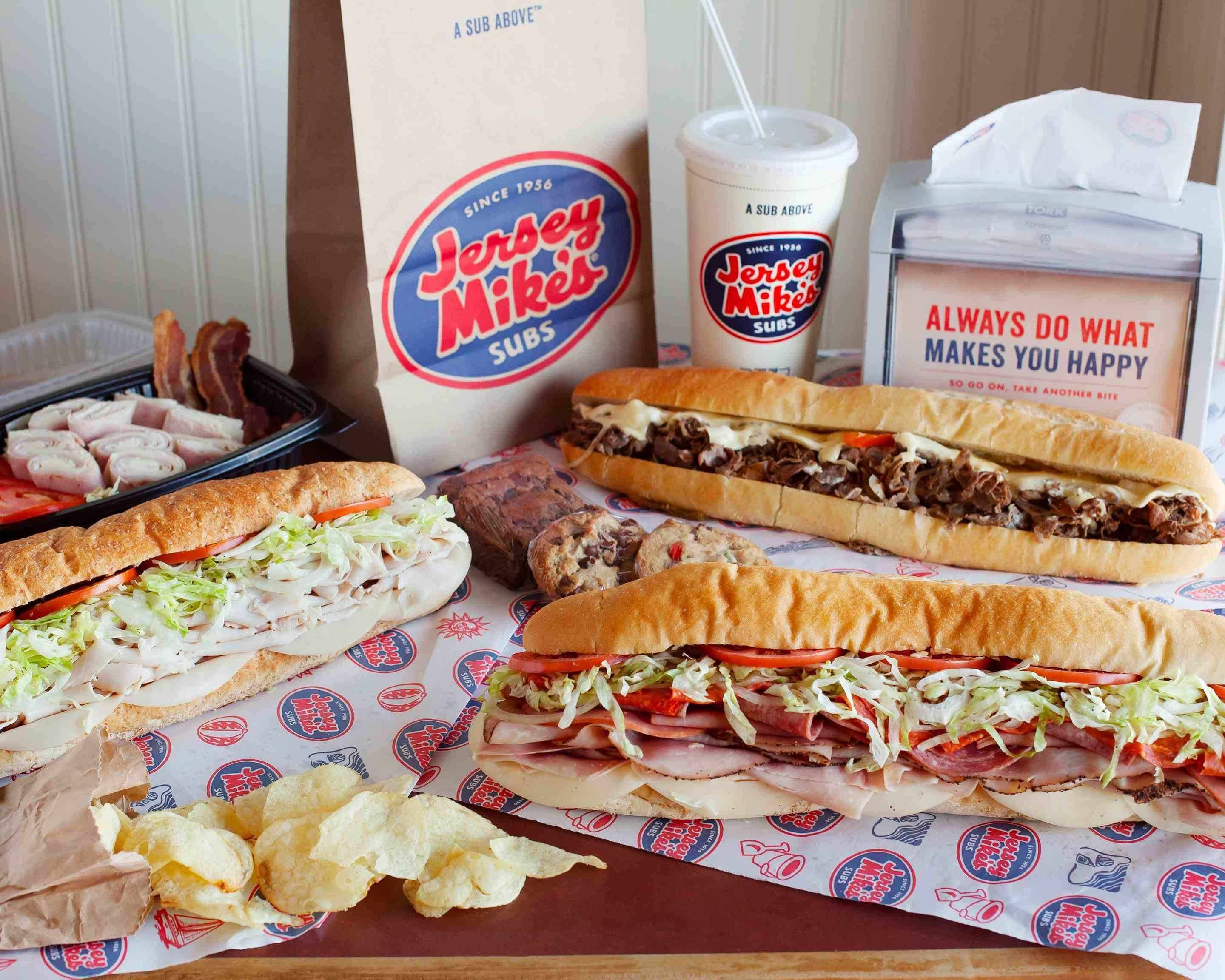 Order Jersey Mike's Subs Delivery Online | Washington D.C. | Menu ...