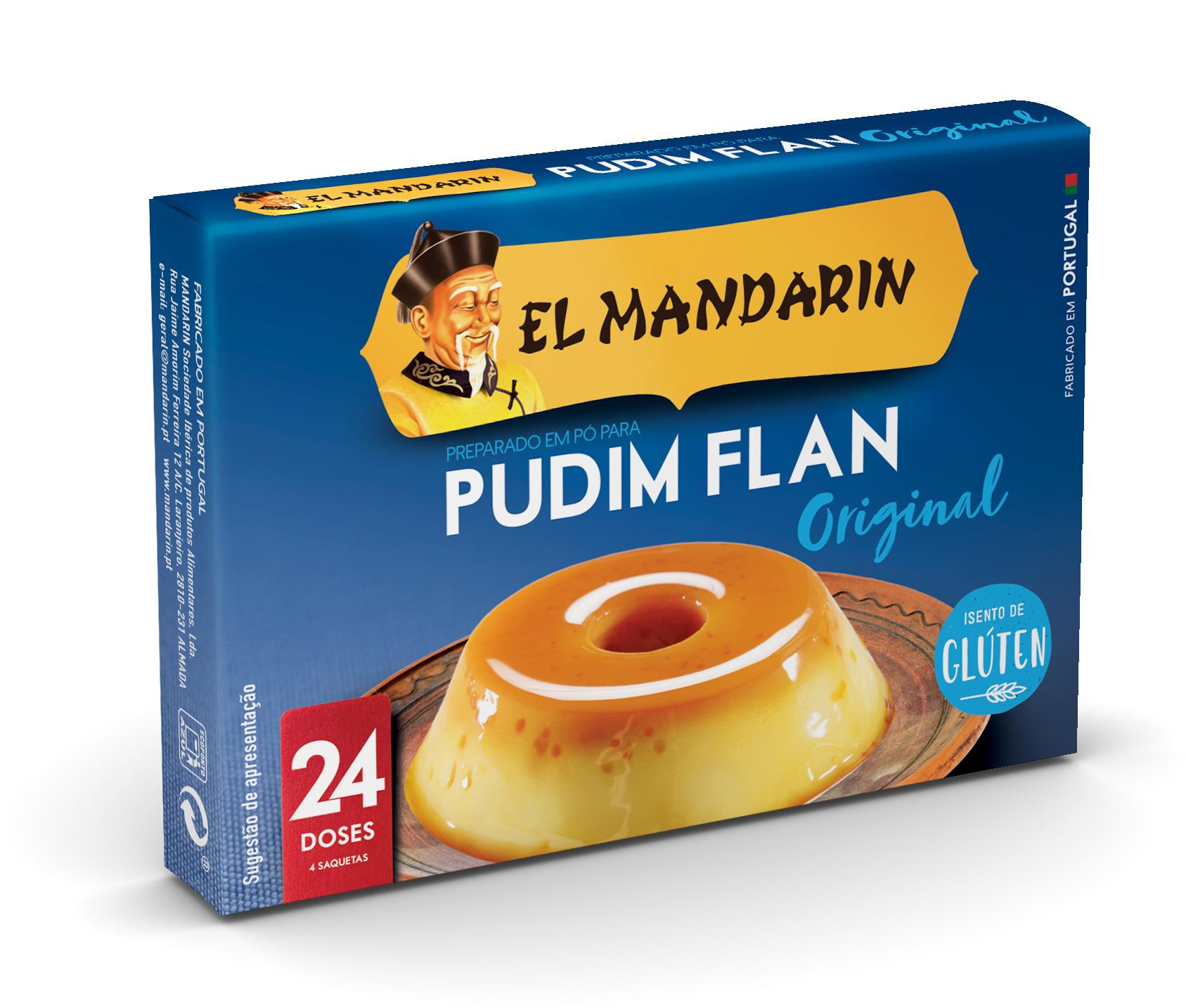 El Mandarin Flan 24 Doses