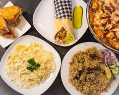Aladin's pizzeria & shawarma place