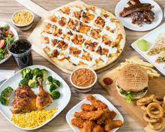CH'S Pizza & wings shrimp steakhouse curbside pickup or delivery