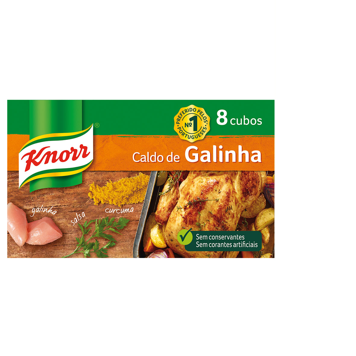 Knorr Caldo Galinha 8 cubos