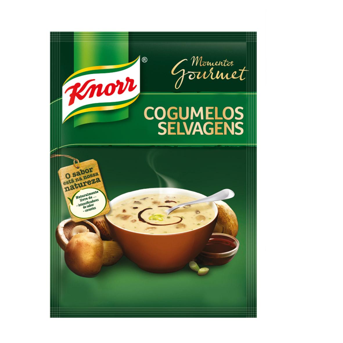 Sopa Knorr Cogumelos Selvagens Gourmet 61g