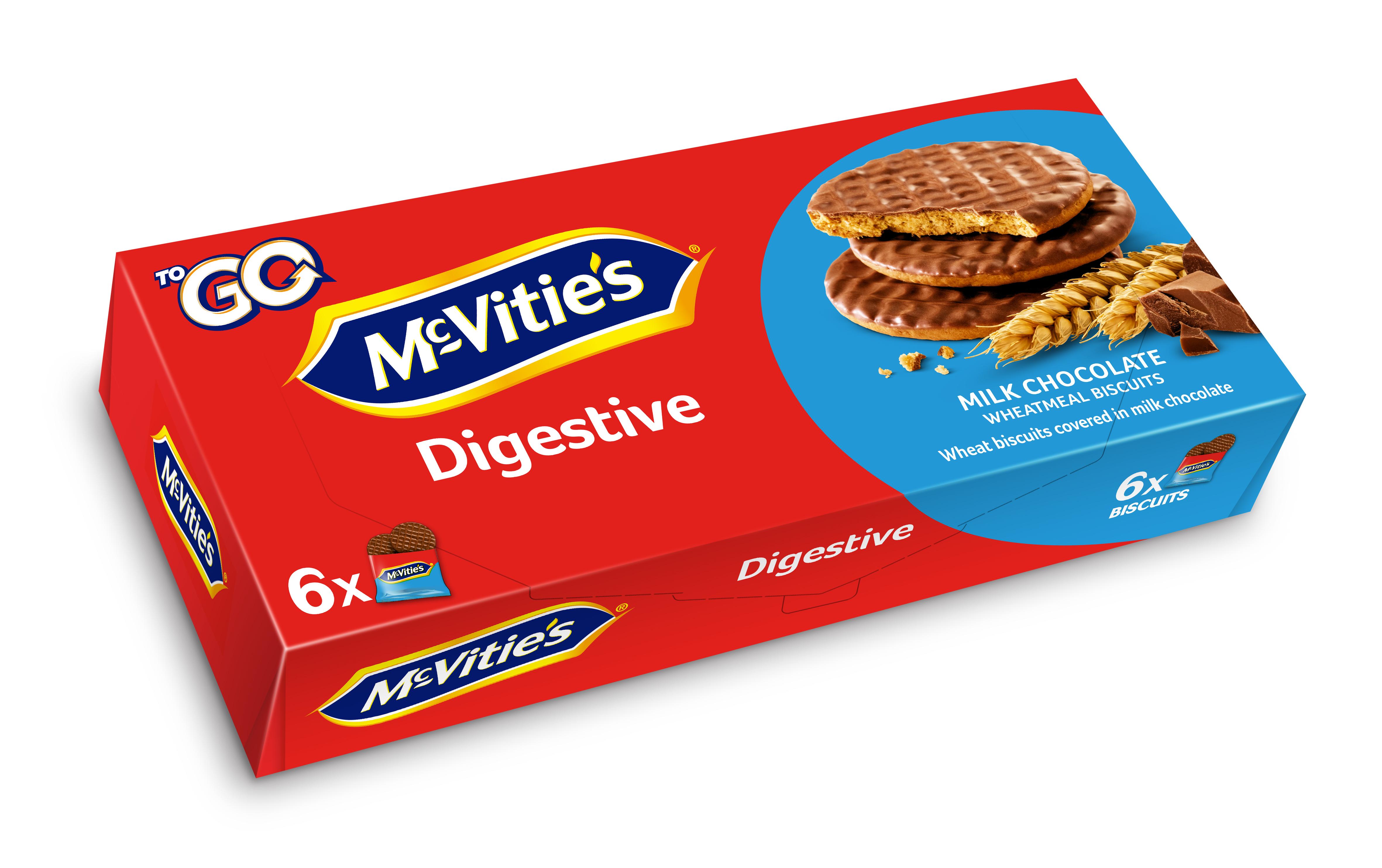 Bolachas Digestivas Go Choc Leite Mcvities 200g