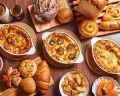 石窯パンとラザニア アイグラン