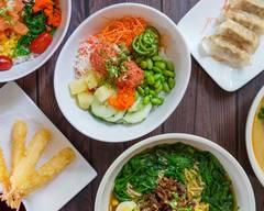 Poke bowl asian cafe