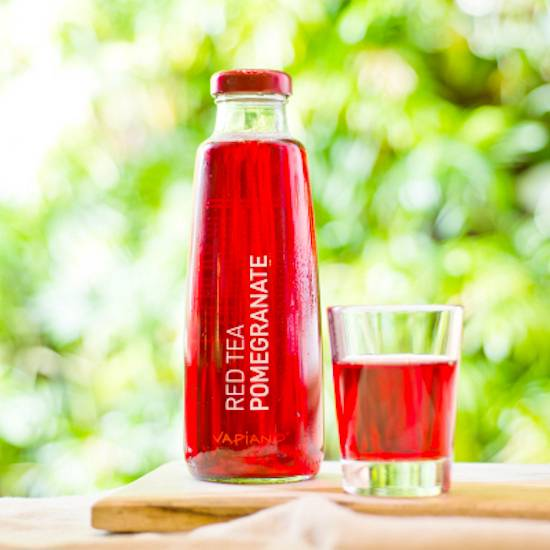 Vapiano ice tea pomegranate