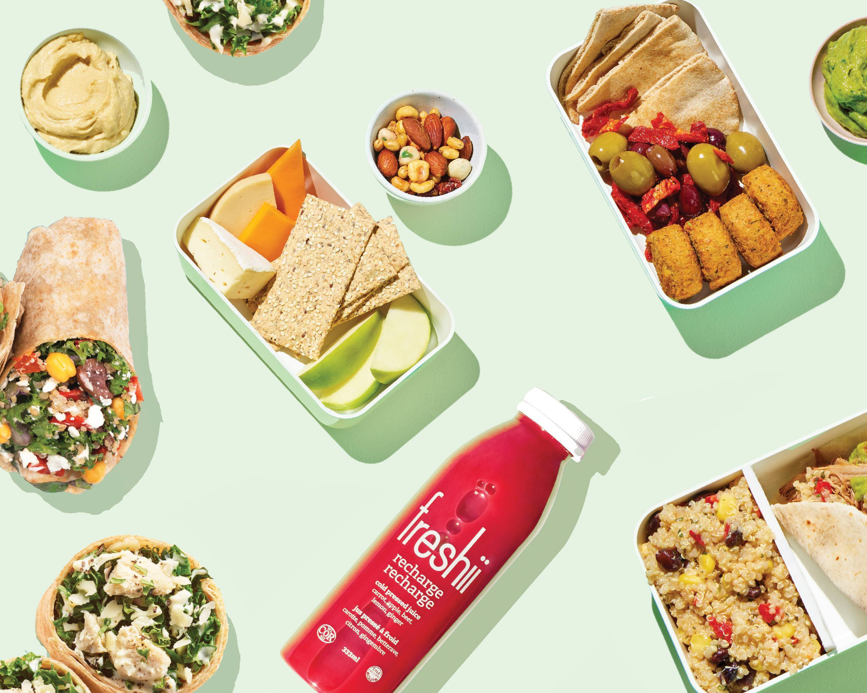 Freshii Express 3020 Unity Dr Delivery Uber Eats