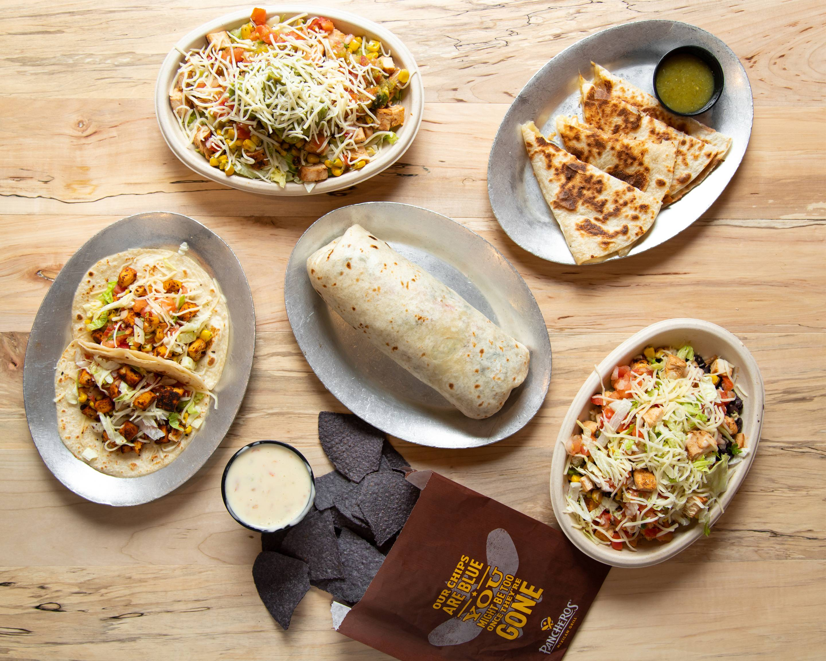 Pancheros Mexican Grill (3552 Meridian Crossing)