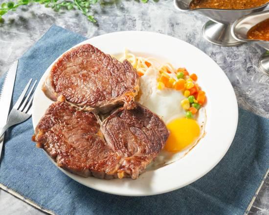 常淞平價牛排 林口在地美食 小吃 餐廳