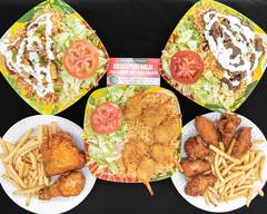 Bridgeport halal fish &chips hot fried chicken