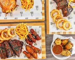 Sticky BBQ Wings, Ribs & Burgers, Thornton