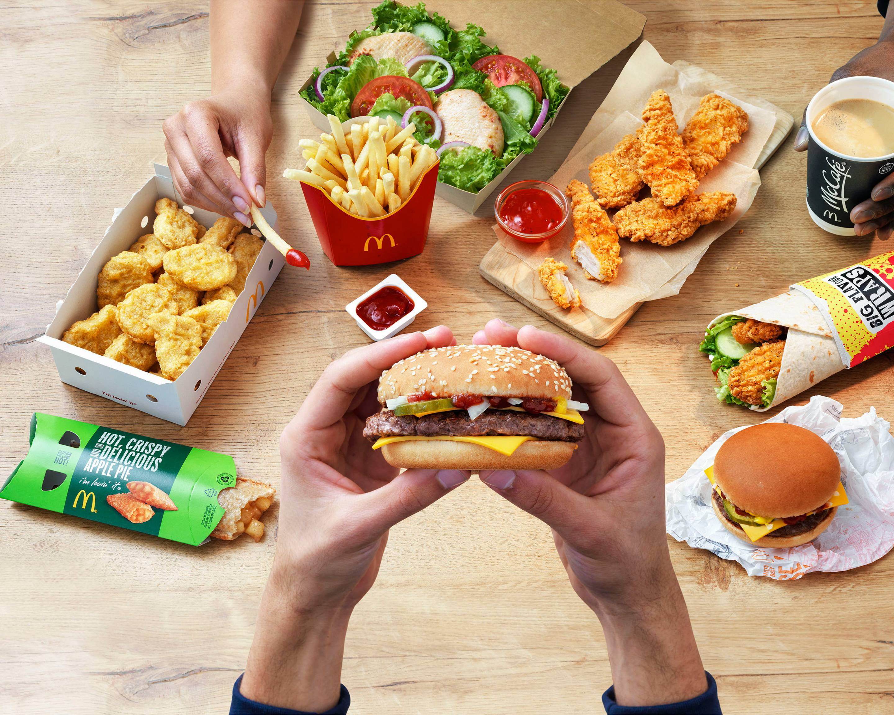 Mcdonalds Connswater Park Delivery Uber Eats