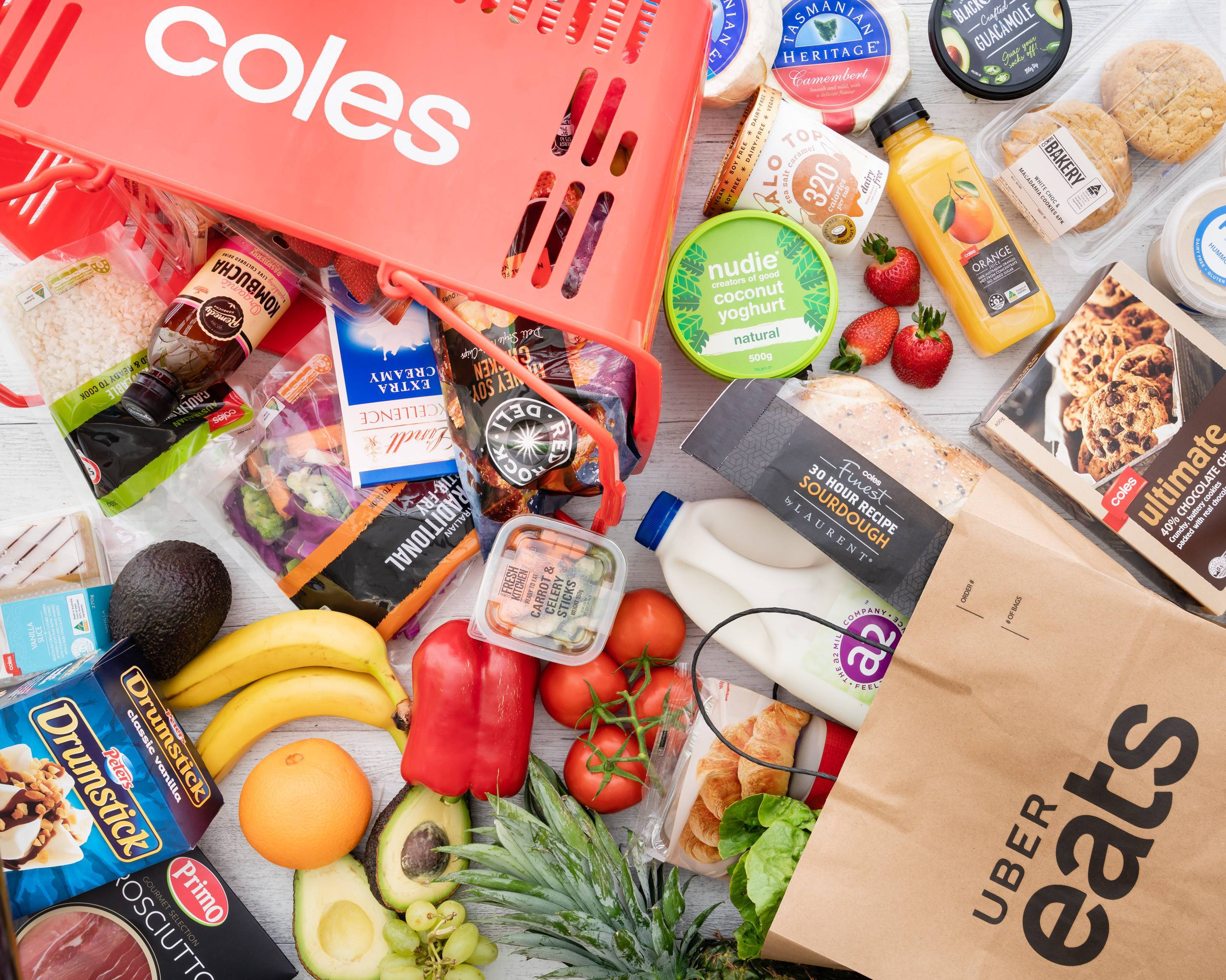 Coles Pagewood Delivery Uber Eats