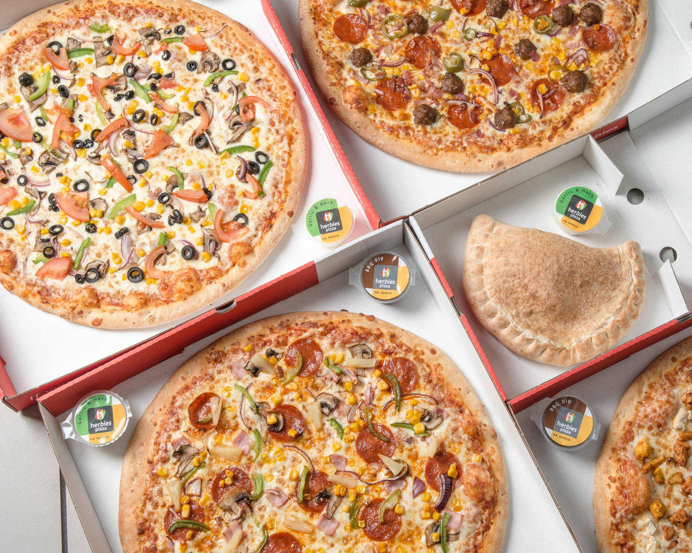 Herbies Pizza Delivery Uber Eats