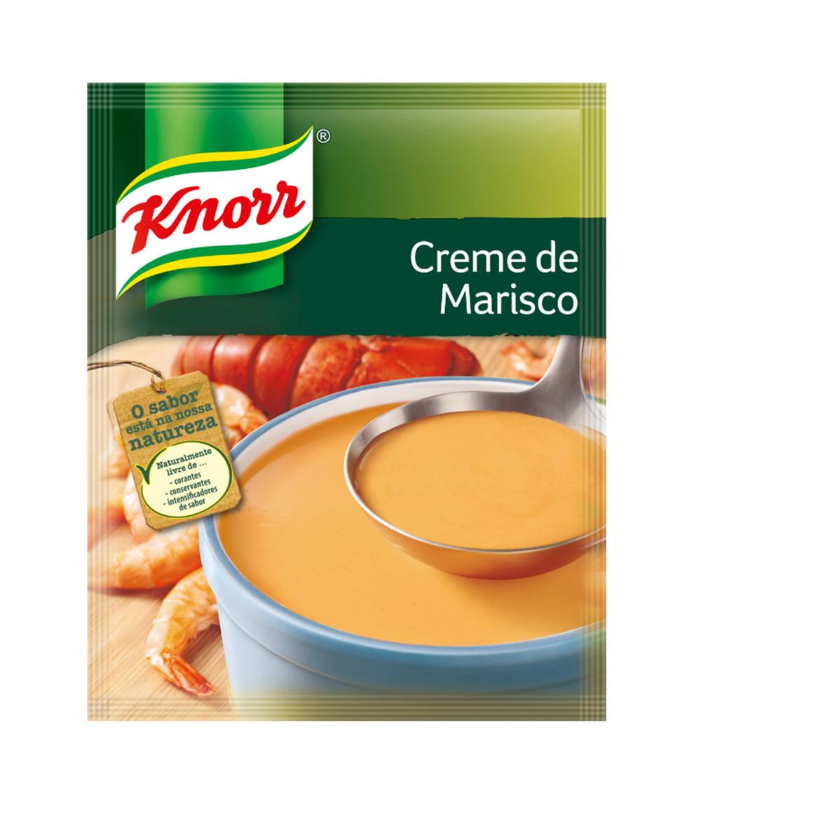 Sopa Knorr Creme Marisco 72g