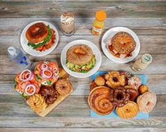 Glaze Donuts and Bagel Sandwiches