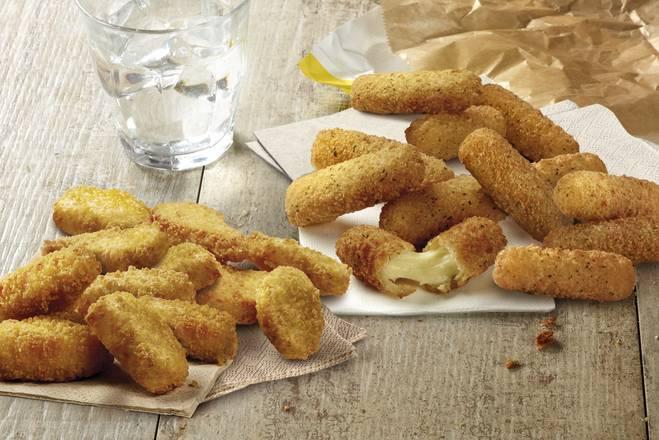 12 Nuggets + 12 Fingers Mozzarella