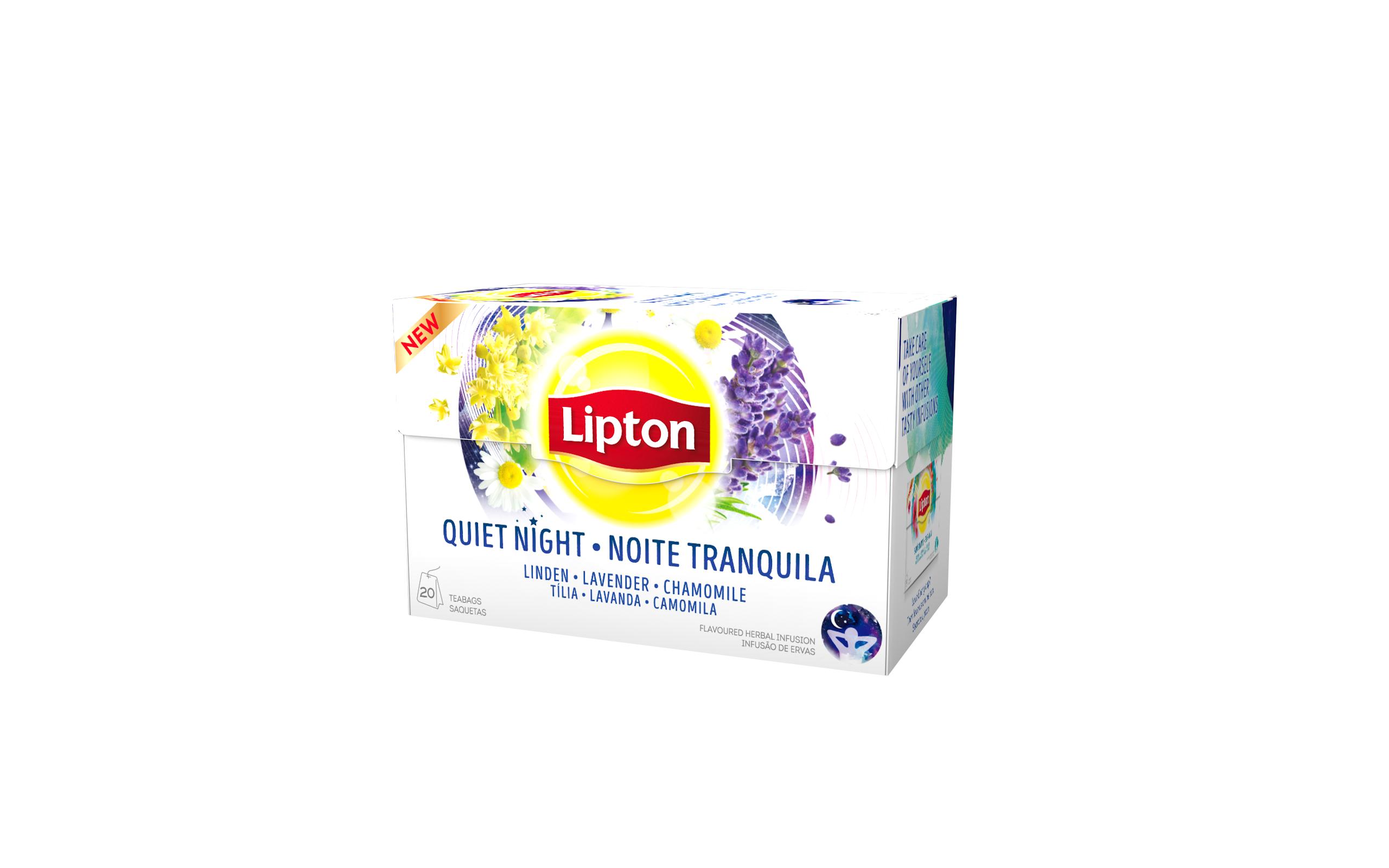 Lipton Noite Tranquila 20 Saquetas