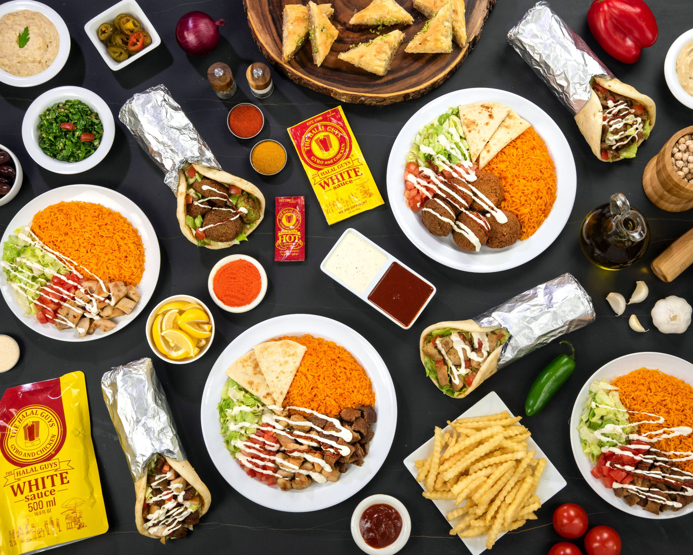 Order The Halal Guys 336 O Farrell St San Francisco Ca Delivery Online San Francisco Bay Area Menu Prices Uber Eats