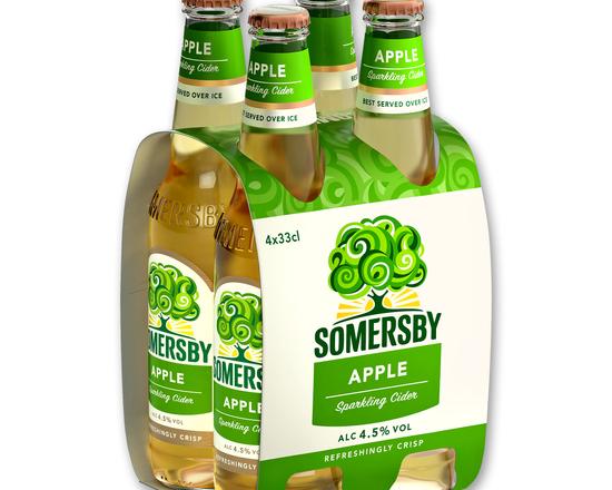 Pack Somersby Maçã 4x33cl