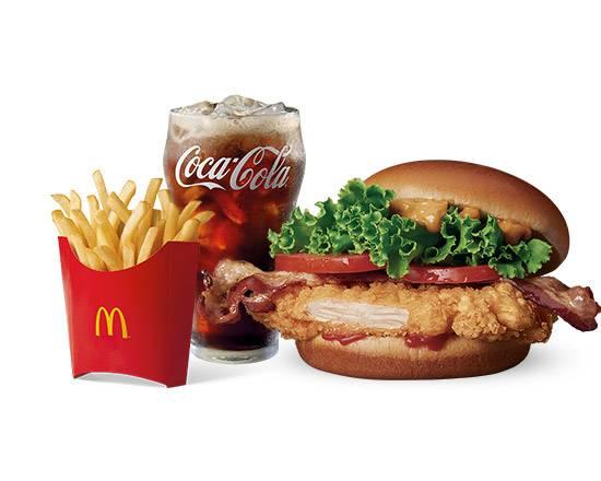 套餐-BLT 辣脆鷄腿堡 | BLT Spicy Chicken Burger Meal