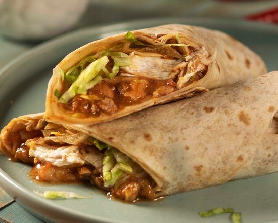 Burrito de Tinga de Pollo