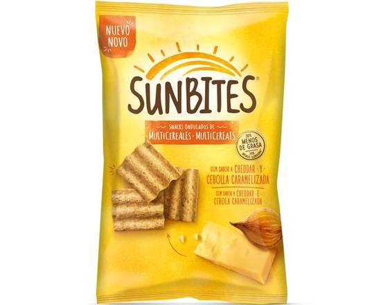 Sunbites Cheddar & Cebola 95gr
