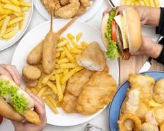Golden Crispy Fish n chips