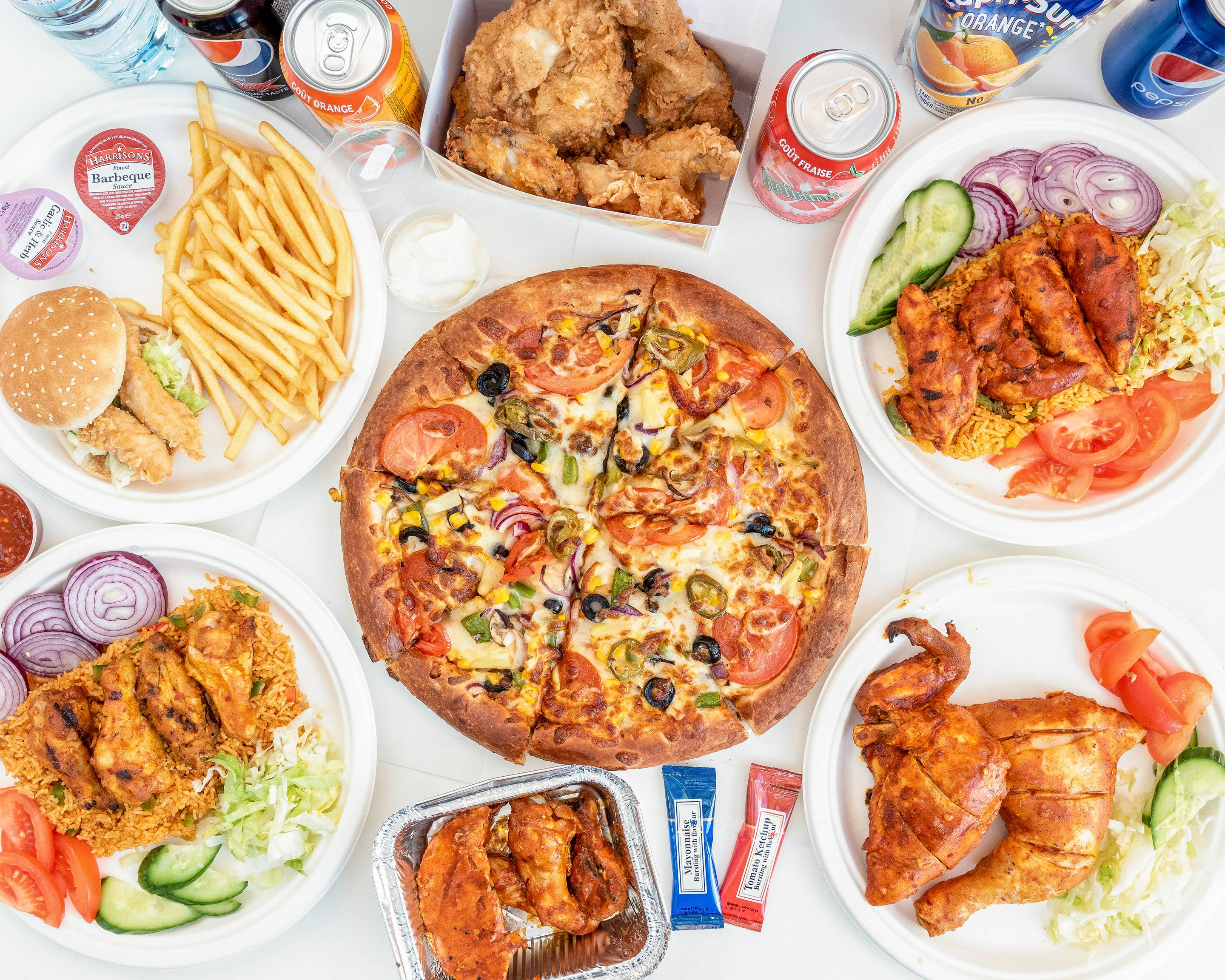 Kings Peri Peri Chicken Pizza Delivery Uber Eats
