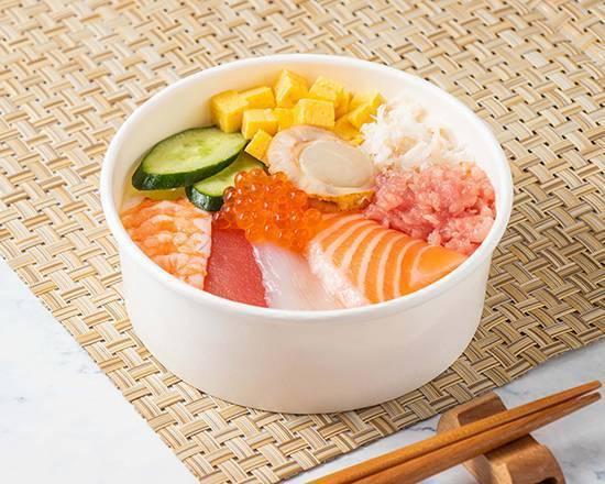 豐盛海鮮丼飯 Seafood Donburi