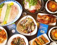 韓国海鮮刺身レストラン テジョンデ