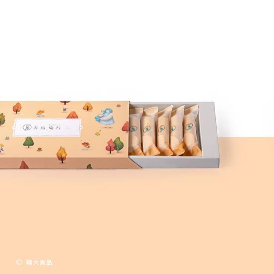 花生粒粒蛋捲 12 入典雅禮盒 Peanut Butter Egg Roll 12 Piece Gift Box