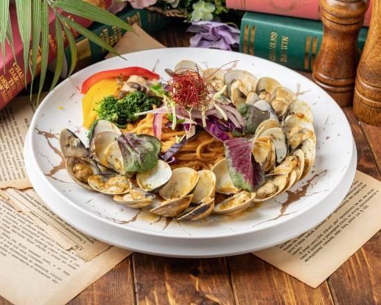 威尼斯蛤蠣咖哩醬義大利麵Venice clam