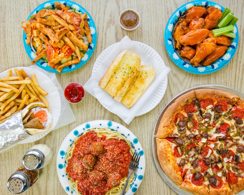 Ricco's pizza menu hampton va