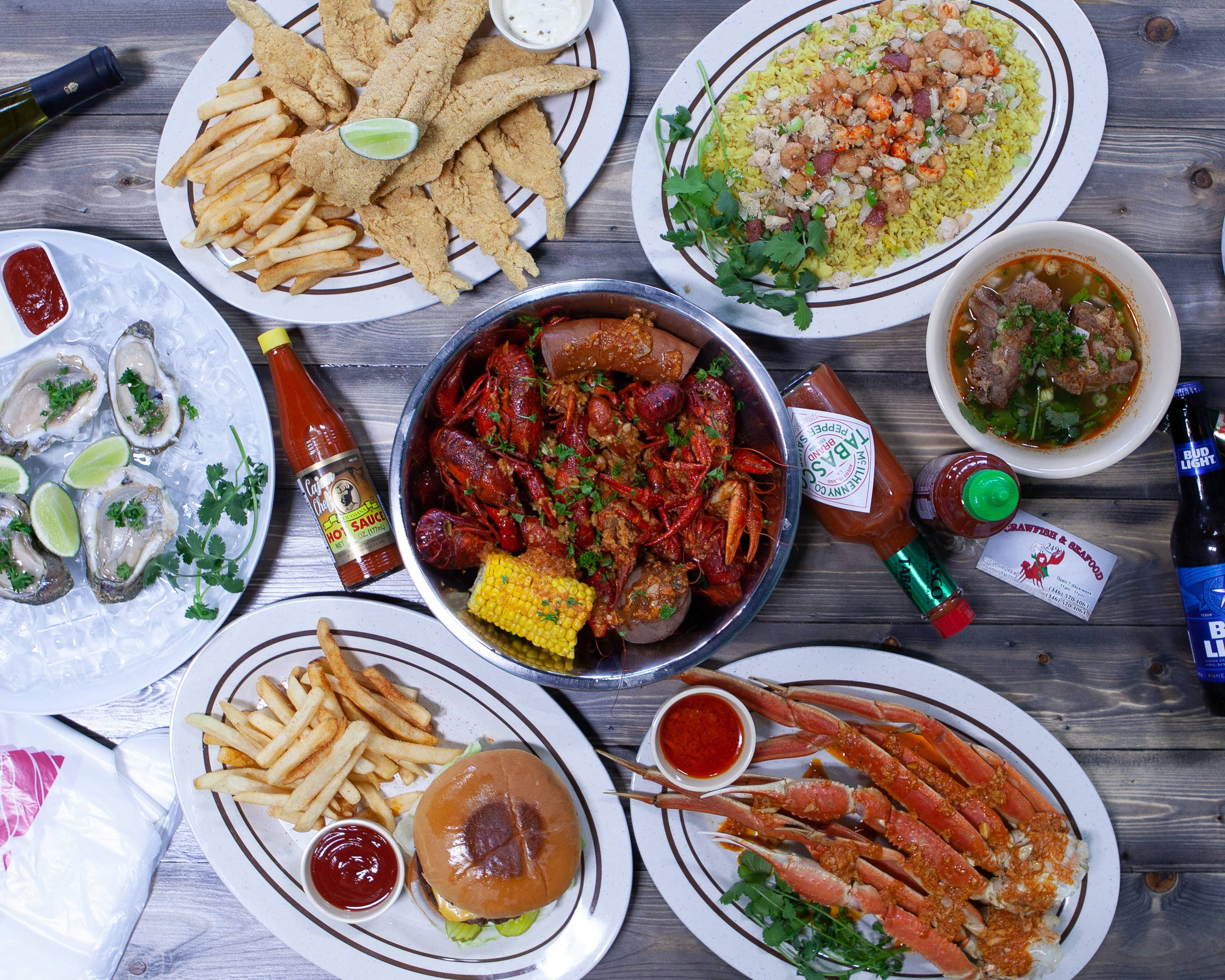 Order 249 Crawfish and Seafood Delivery ...