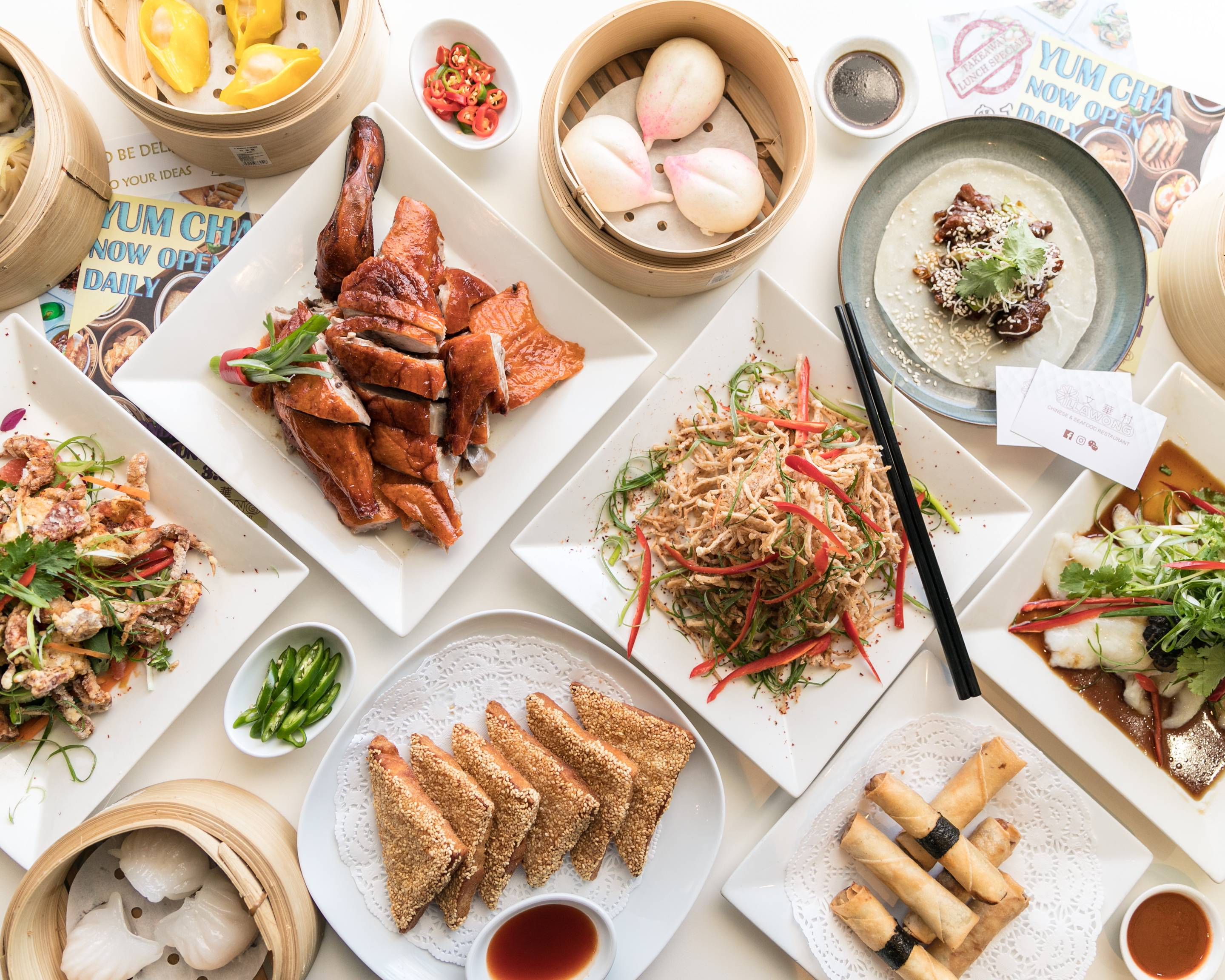 Illawong Chinese Seafood Restaurant Delivery Illawong