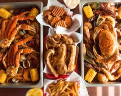 Fried or boiled seafood Fusion