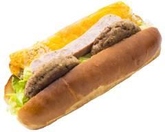西公園で1979年創業 今屋のハンバーガー 西新店 imaya no hamburger nishijin ten
