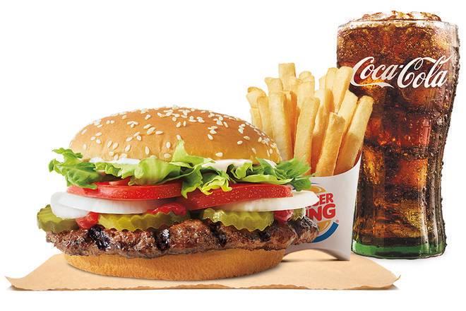Entregas De Burger King 1313 28th Street S W En Grand Rapids