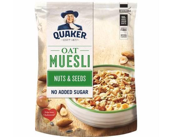 Quaker Muesli Tradicional Frutos Secos & Sementes 600gr