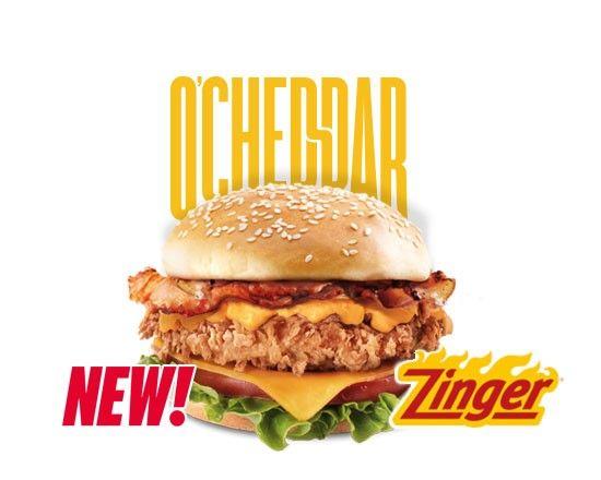 O Cheddar Single Zinger