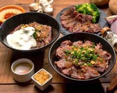 牛ハラミを使った究極のスタミナ丼@肉ときどきレモンサワー。名駅
