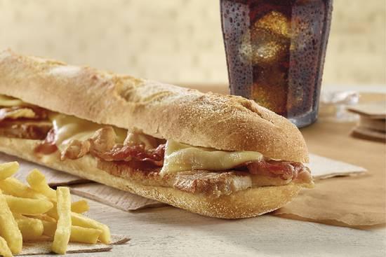 Sandes Lombo, Queijo e Bacon