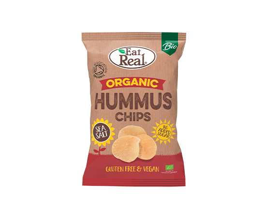 Eat Real Organic Hummus Chips 100g