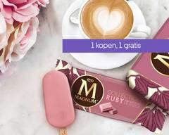Magnum & OLA ice cream store - Amsterdam-Oost