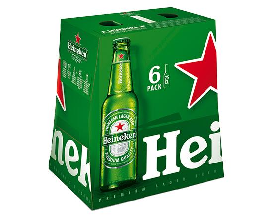 Heineken - Pack 6x25cl