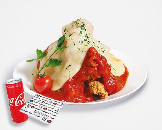 チキン トマト クリスピー アンド
